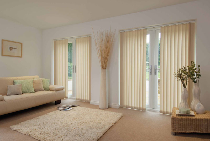 Modern window treatments for sliding glass doors - Our Extensive Fabric Range Will Give You Total Creativity When