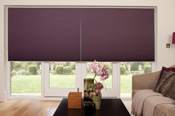 pleated-blinds-purple