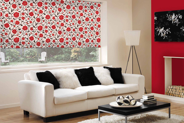 Roller Blinds Sitting Room