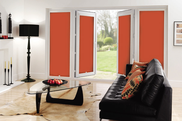 Roller Blinds French Windows