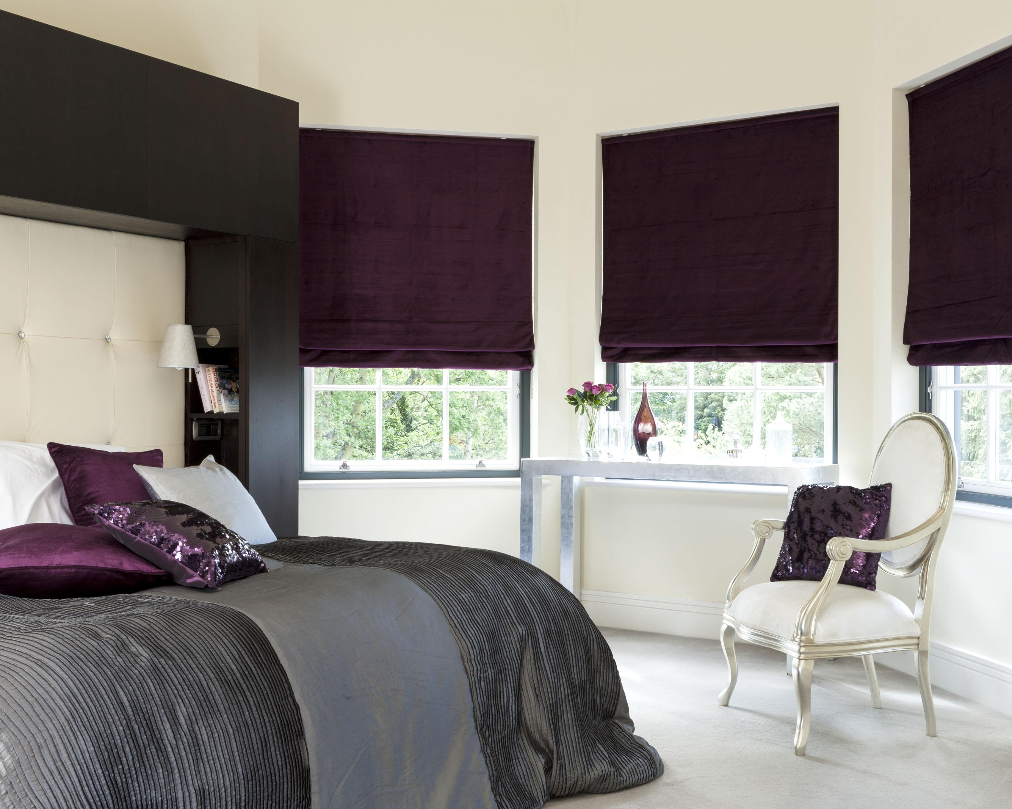 Extended Range Of Roman Blind Fabrics Shadow Blinds Window